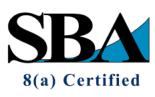 SBA 8(a) Certification logo